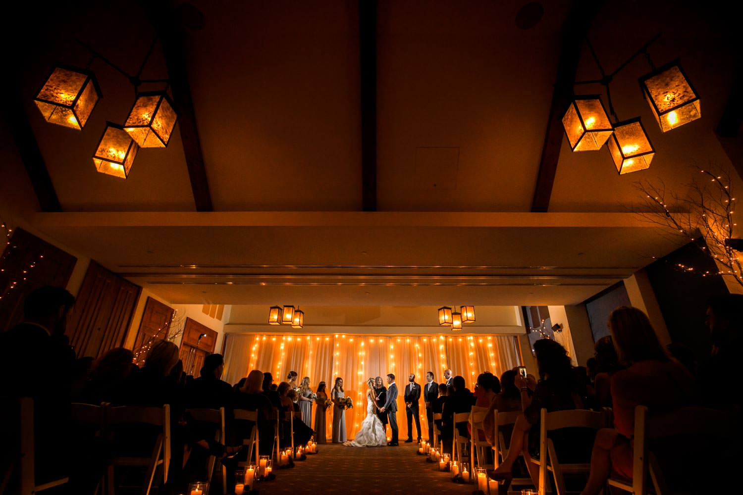 Wedding Ceremony At Stowe Mountain Lodge Vermont